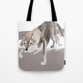 Totem Russian Wolf Tote Bag