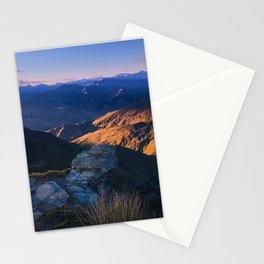 Coronet Peak, Otago, New Zealand Stationery Cards