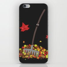 Best Friends: Rake and his Leafy Pals iPhone & iPod Skin