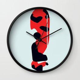 Showa Koi Wall Clock