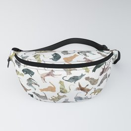 Nature Cats Fanny Pack