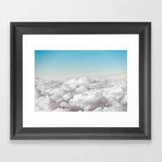 Cotton Sky Framed Art Print