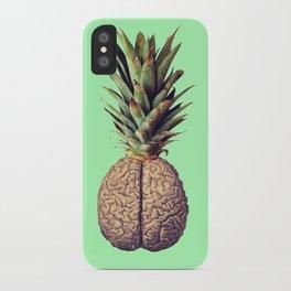 Pinebrain (pineapple) iPhone Case