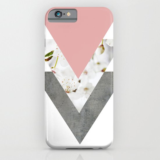 Blossoms Arrows Collage iPhone & iPod Case