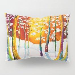 Aurora Borealis Pillow Sham