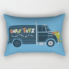 The Happy Toyz Van Rectangular Pillow