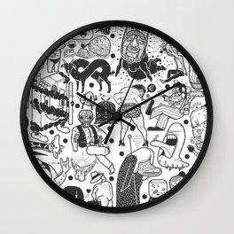 To el tintero entero - Underground comic characters Wall Clock