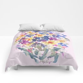 Wildflower Lovelies Comforters