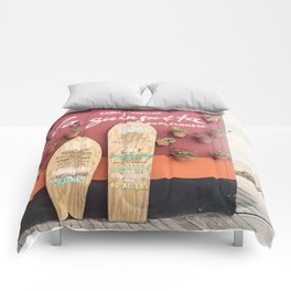 Cocktails and Tapas Comforters