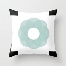 code flower Throw Pillow