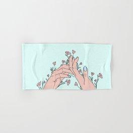 Let It Grow Hand & Bath Towel