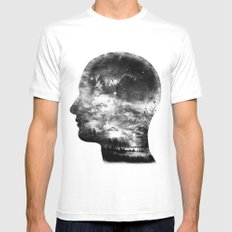 A Beautiful Mind Mens Fitted Tee White MEDIUM