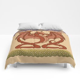 Red Dragons Comforters