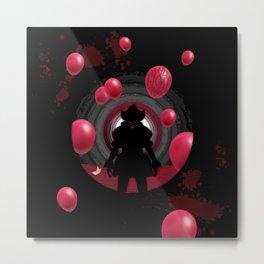 IT Clown - You'll float too Metal Print