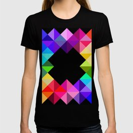 Motley Triangles T-shirt