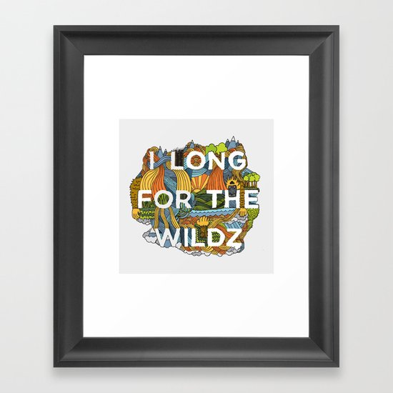 The Wildz Framed Art Print