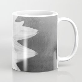 B&W Sunflower Coffee Mug