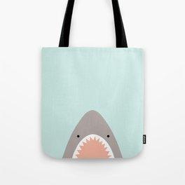 shark attack Tote Bag