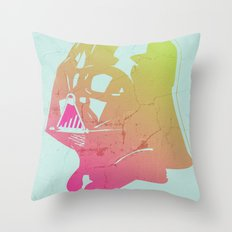 Disco Vader Throw Pillow