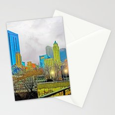 Windy City Cloudy Day Stationery Cards