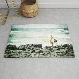 Surfer Girl Rug