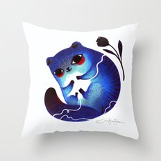 The Power of the Yarn Ball Throw Pillow