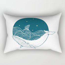 Whale dream Rectangular Pillow