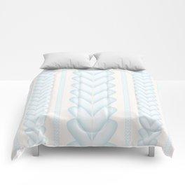 Blue Heart Comforters