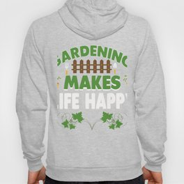 Gardening T-Shirt. Costume For Parents Hoody