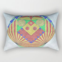 El canario cabreado Rectangular Pillow