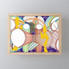 The Beats Framed Mini Art Print