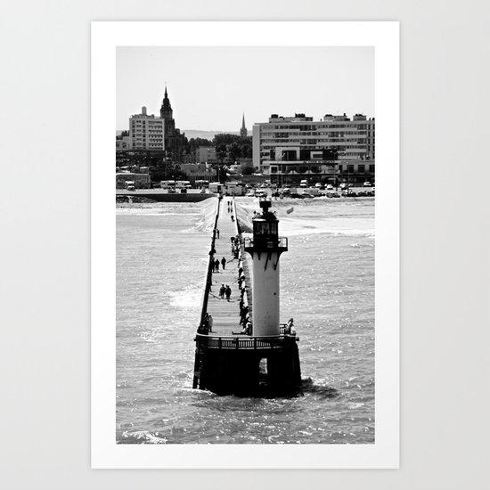 Calais Lighthouse Art Print