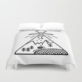 They Made Us Duvet Cover