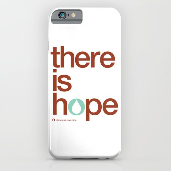 there is hope - blood:water mission  iPhone & iPod Case