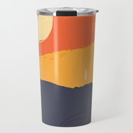 Sunrise Mountain Travel Mug