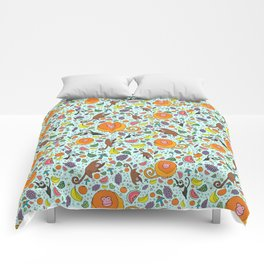 Cute Rainforest Pattern Comforters
