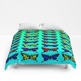 A Butterfly Pattern Comforters