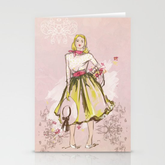 50s Stationery Cards