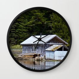 Sheltered Reflections Wall Clock