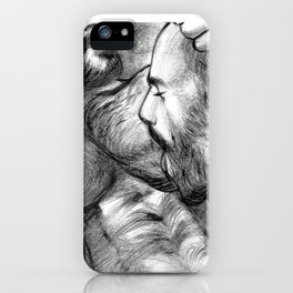 Exploration of Desire (Portrait of Rogan Richards) iPhone Case