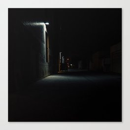Melrose By Night Canvas Print