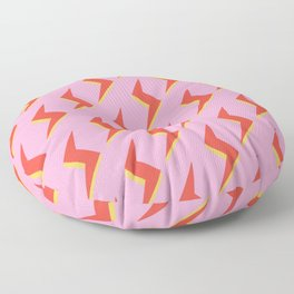 Lightning Pink  Floor Pillow