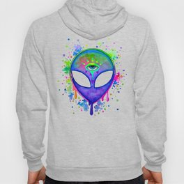 Alien Melt - purple Hoody