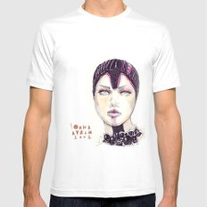 Fashion illustration  MEDIUM Mens Fitted Tee White