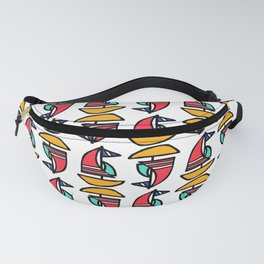 Little Tiny Sailboats Fanny Pack