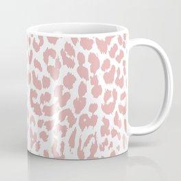 White & Blush Animal Spots  Coffee Mug