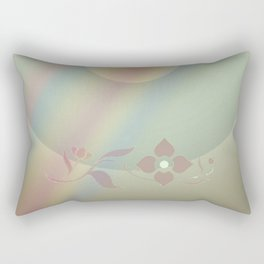 Copper blossom Rectangular Pillow