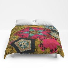 Floating Fives Comforters