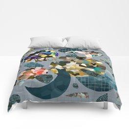 Gemstone Space Moon Comforters