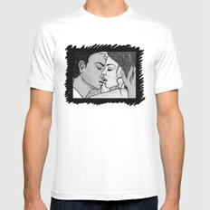 KISS 2 Mens Fitted Tee White MEDIUM